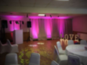 Leap Audio Wedding DJ Disco hire Gloucestershire