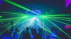 Leap Audio Laser lighting hire Gloucester