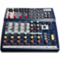 Soundcraft notepad 124 Hire