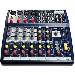 Soundcraft notepad 124 Hire