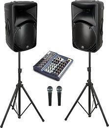 Leap Audio Vocal PA Speaker System Hire Gloucester