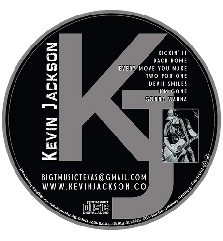 Kevin Jackson (Special Signed EP)