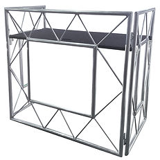 Leap Audio DJ booth Hire