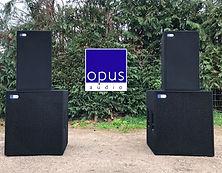 opus audio speaker hire