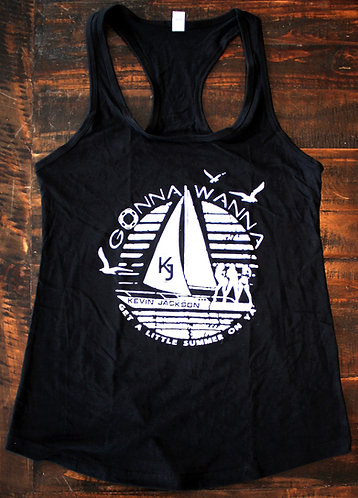 copy of Gonna Wanna -Small - Black Logo Tank Top