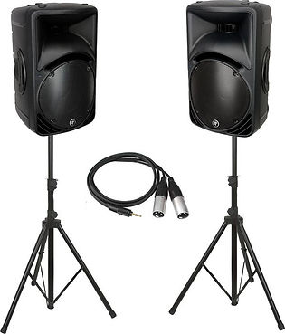 DIY DJ disco party speakers hire Gloucester