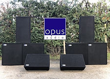 opus audio speaker PA hire
