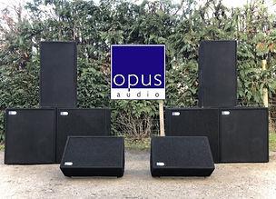 Leap Audio Opus Audio Live Band Speaker Hire