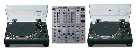 Leap Audio Technics 1210mk2 hire