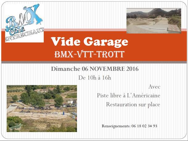 Vide garage Entrechaux , Trophée d'Automne
