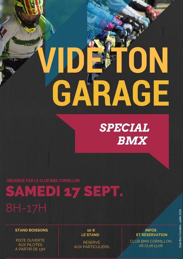 Vide ton garage ! - Bourse aux vélos