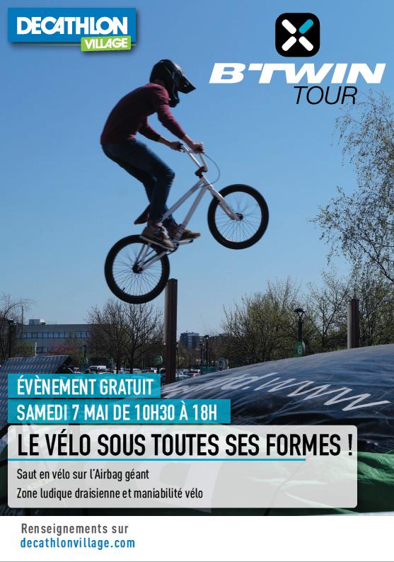 Btwin tour  Bouc bel air