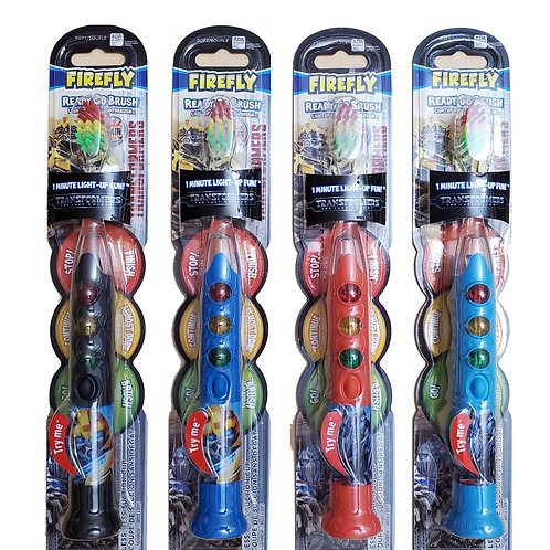 Firefly Transformers Ready Go Brush Light-Up Timer Toothbrush (4 counts)