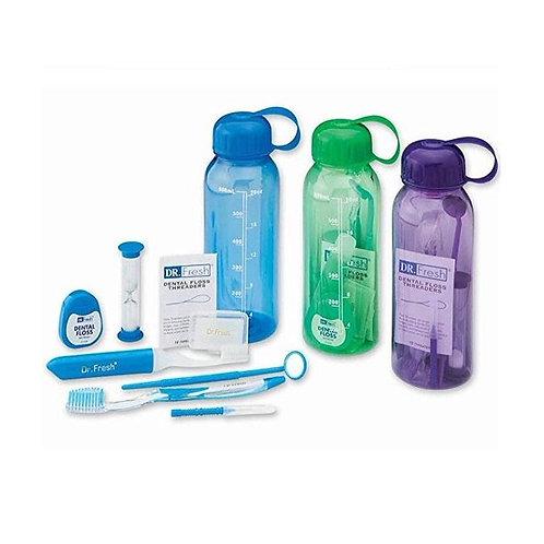 Dr. Fresh Orthodontic Travel Bottle Kit (Assorted colors)
