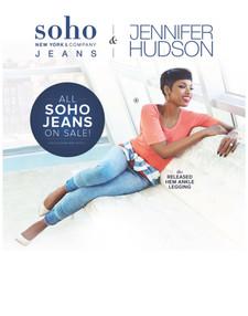 Jennifer Hudson for Soho Jeans - New Yor