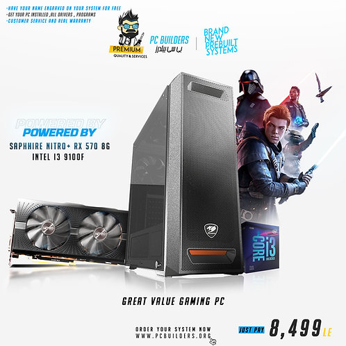 BUDGET GAMING PC