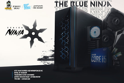 The Blue Ninja