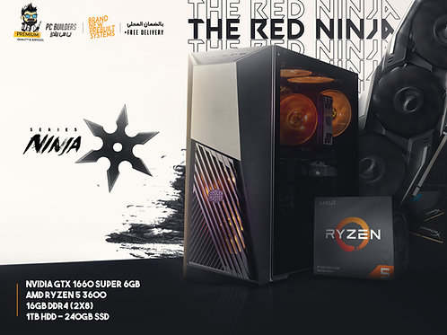 The Red Ninja