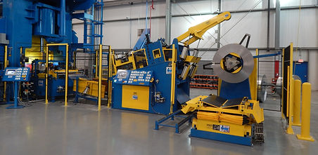 CPW Coil Handling Line