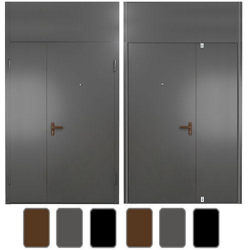 Тамбурная дверь с фрамугой №13
