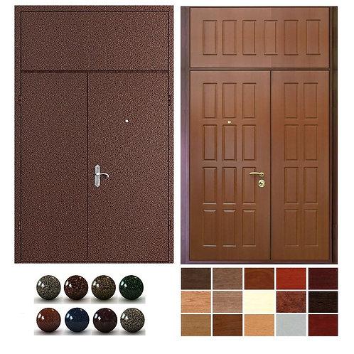 Тамбурная дверь с фрамугой №17