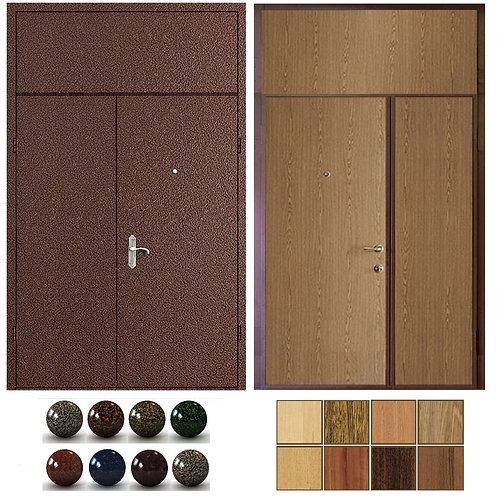 Тамбурная дверь с фрамугой №16