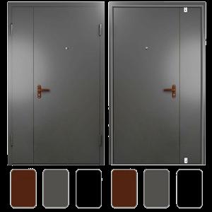 тамбурные двери под ключ
