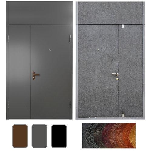 Тамбурная дверь с фрамугой №12