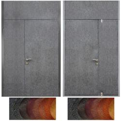 тамбурная дверь с верхней вставкой №11
