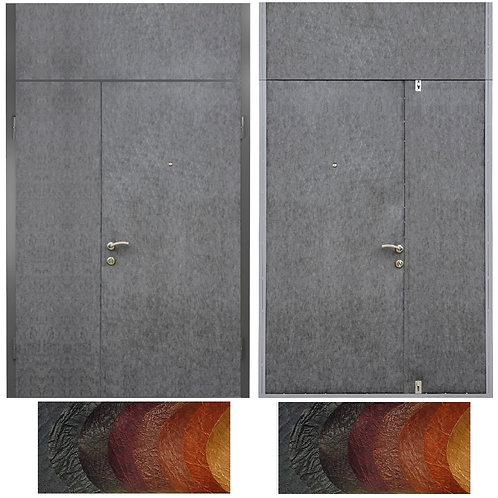 Тамбурная дверь с фрамугой №11