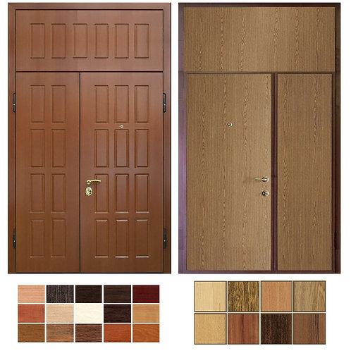 Тамбурная дверь с фрамугой №19