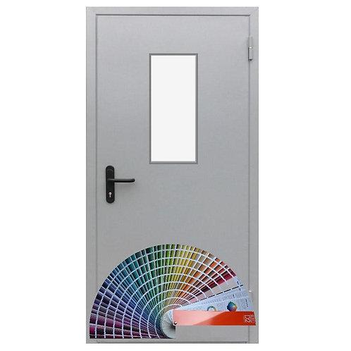противопожарная дверь остеклённая