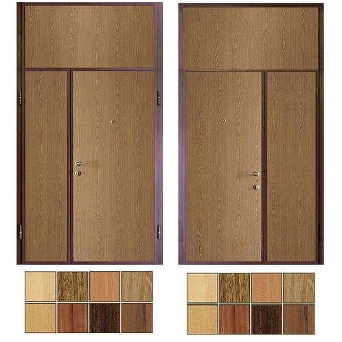 Тамбурная дверь с фрамугой №18