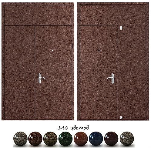 Тамбурная дверь с фрамугой №15