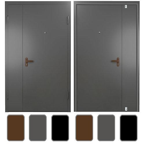 тамбурная дверь с электромеханическим замком