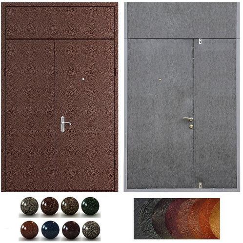 Тамбурная дверь с фрамугой №14