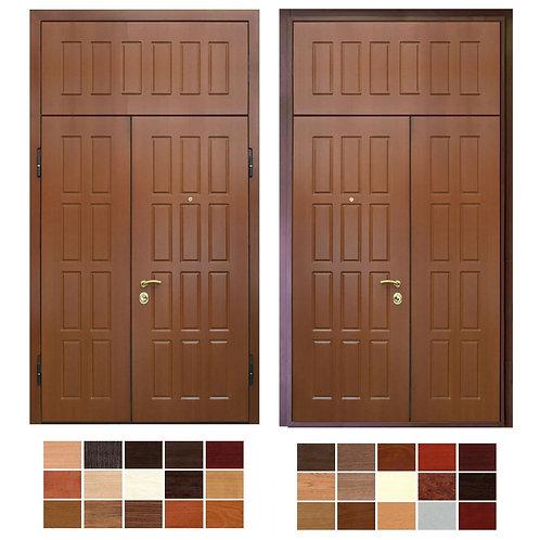 Тамбурная дверь с фрамугой №20