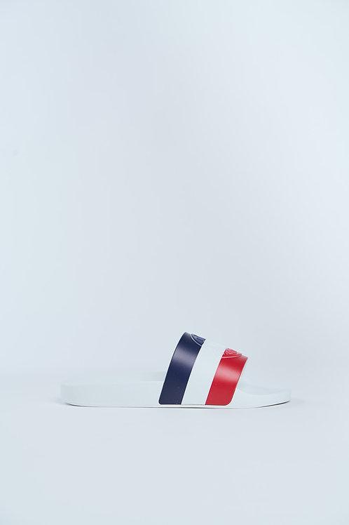 Moncler Slides Tri-Color