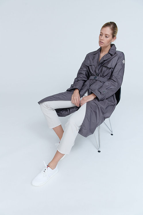 MONCLER VANILLE Long Trench