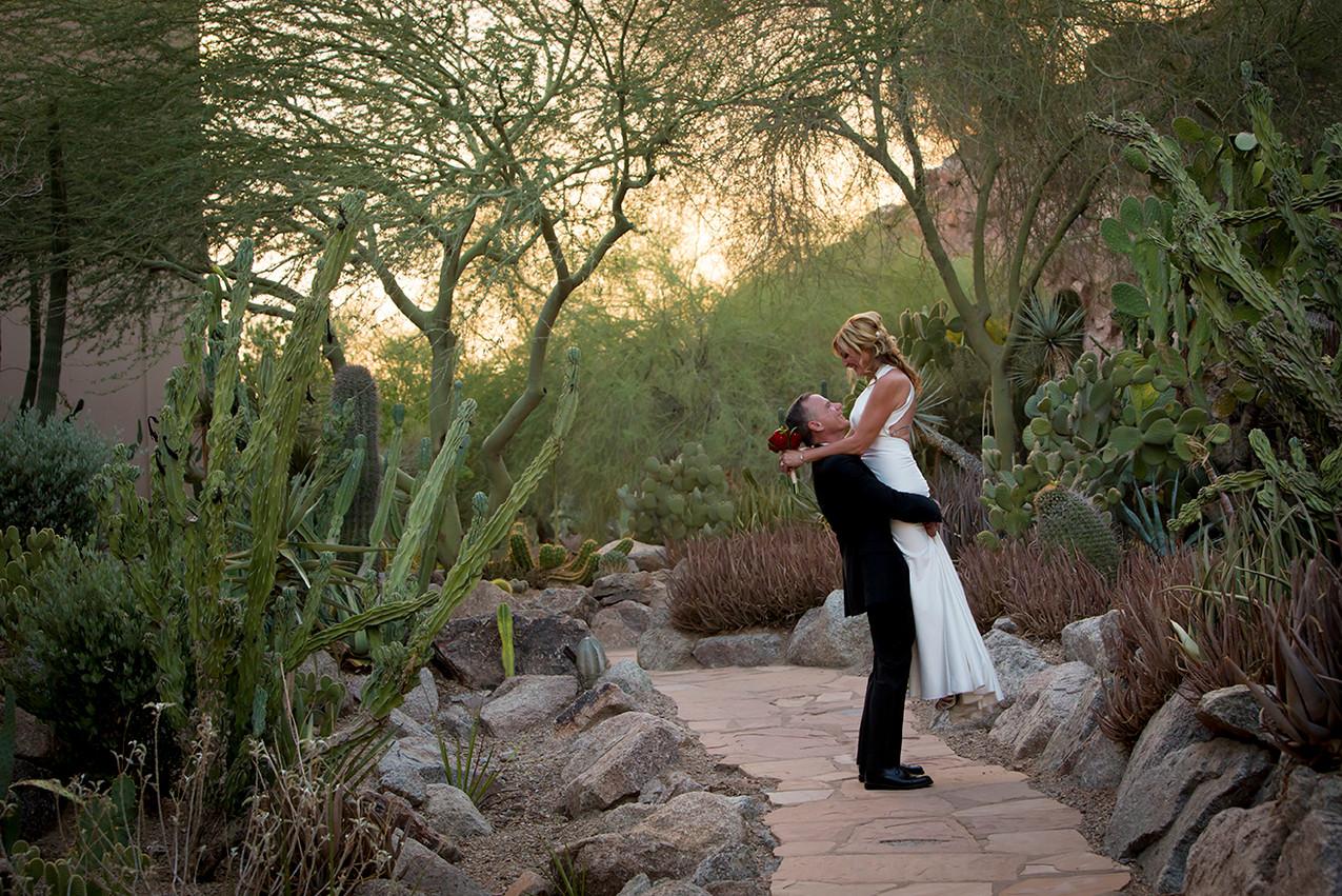 Angel in the Cacti by Rachel Leintz, Wedding Photographer