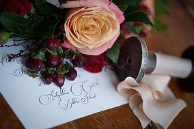 Beautiful stationary created by Victoria York design - Photographed by Rachel Leintz Photography in Dublin, Ireland