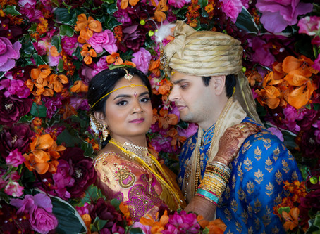 color explosion at chateau luxe! - the story of sirisha and bhushan