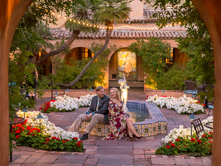 where to have your arizona wedding - venue spotlight - the royal palms