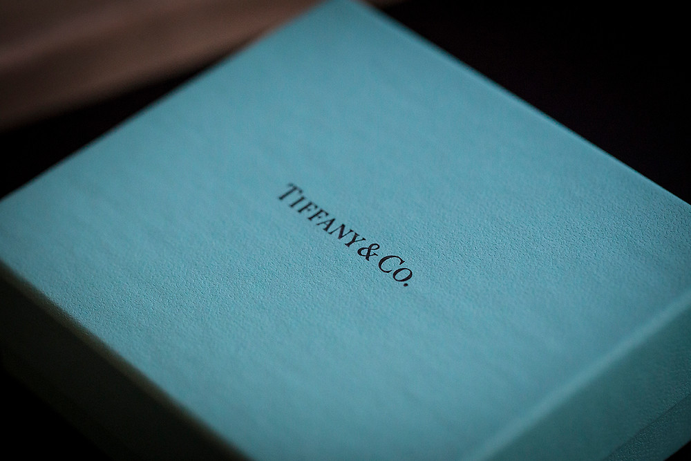 a Tiffany & Co. jewelry box