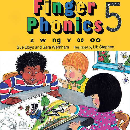 Finger Phonics Book 5 (US / in print)