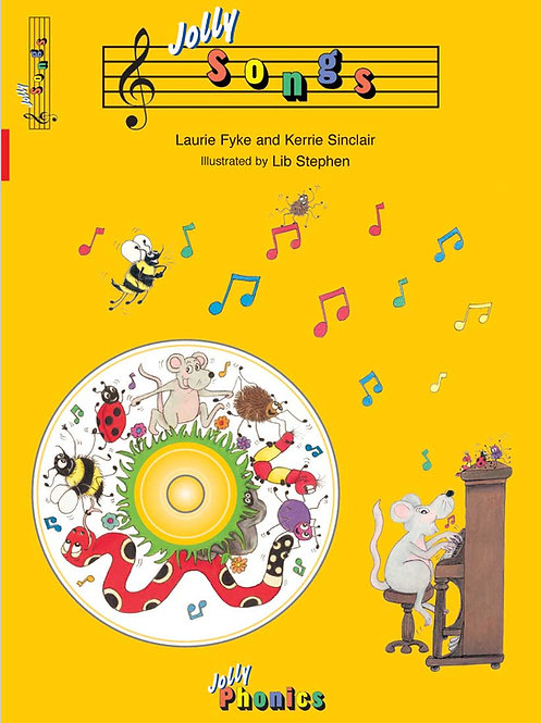 Jolly Songs (book and CD )