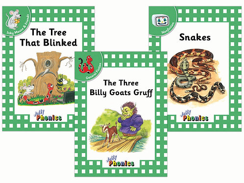 Jolly Phonics Readers Level 3 - Complete Set (in print letters)
