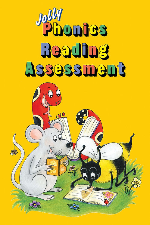 Jolly Phonics Reading Assessment (in print letters): 受注受付