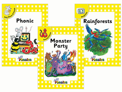 Jolly Phonics Readers Level 2- Complete Set (in print letters)
