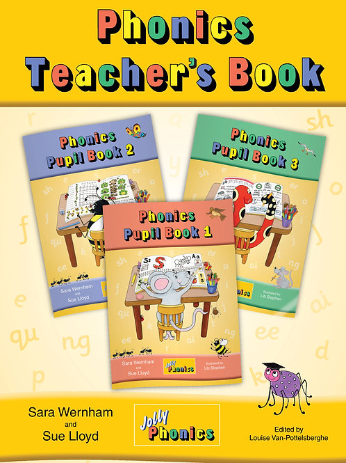 Jolly Phonics Teacher's book color edition (US/ in print)